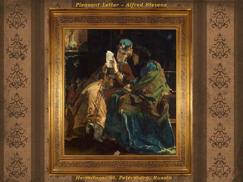 Pleasant Letter – Alfred Stevens