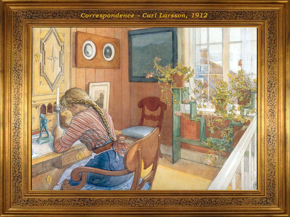 Correspondence – Carl Larsson, 1912