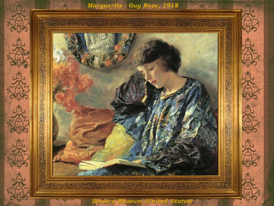 Marguerite - Guy Rose, 1918 Bowers Museum (United States)