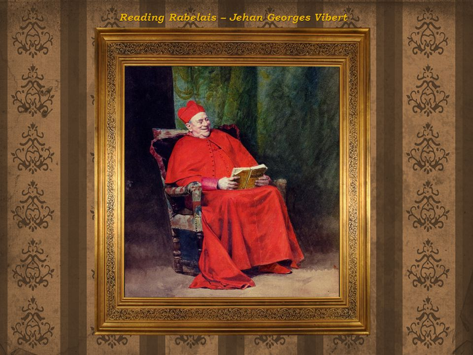 Reading Rabelais – Jehan Georges Vibert