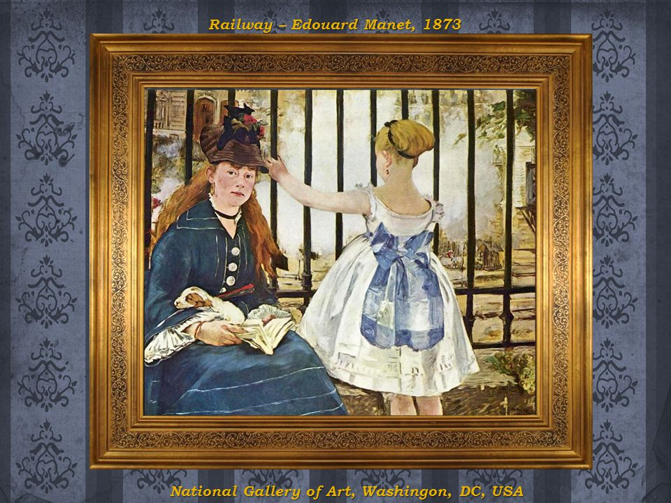 Railway – Edouard Manet, 1873