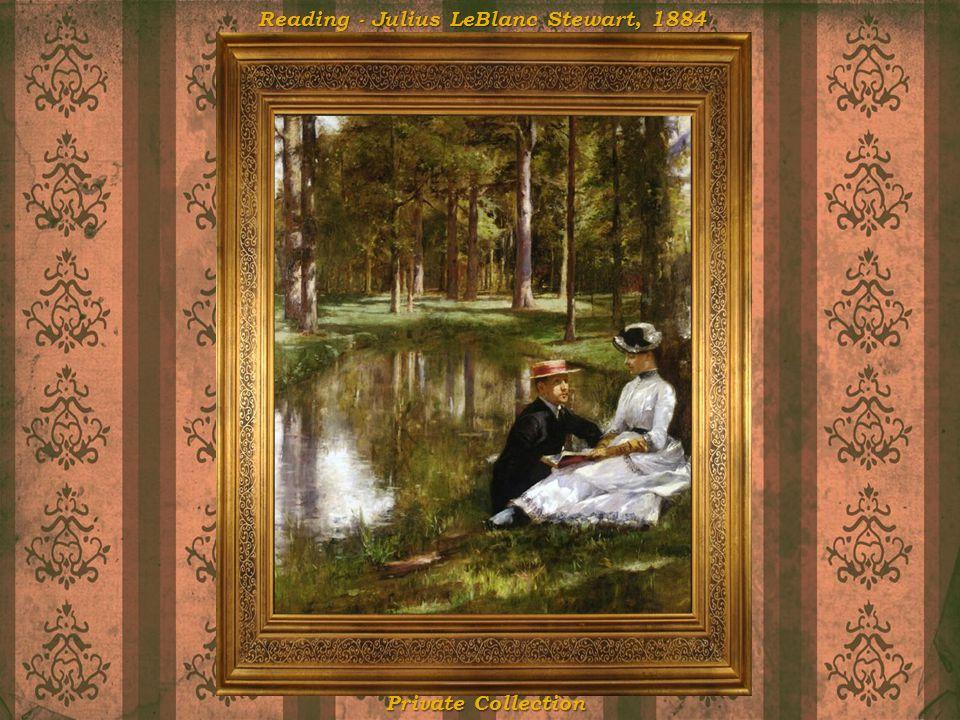 Reading - Julius LeBlanc Stewart, 1884