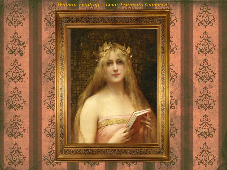 Woman reading – Léon François Comerre