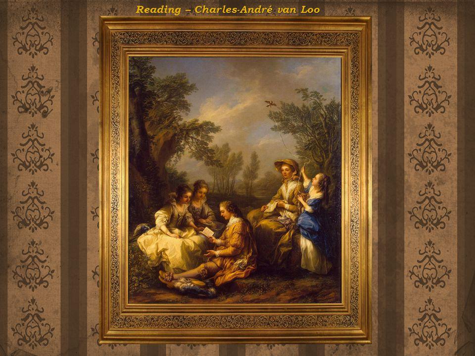 Reading – Charles-André van Loo