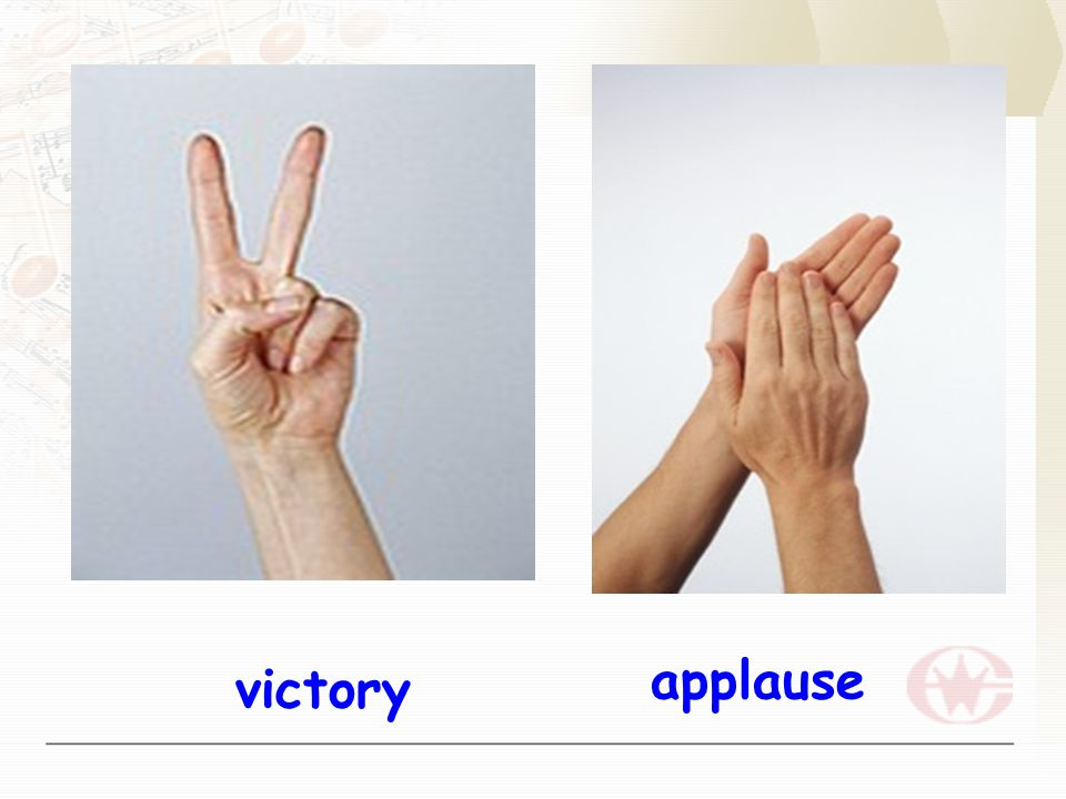 applause victory