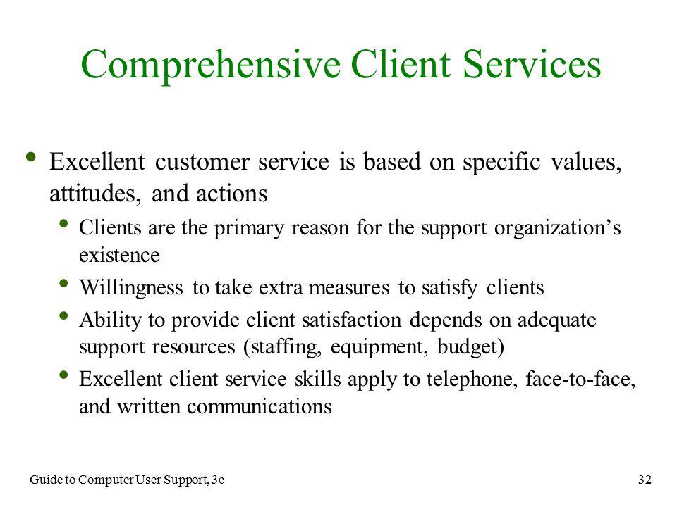 Comprehensive Client Services