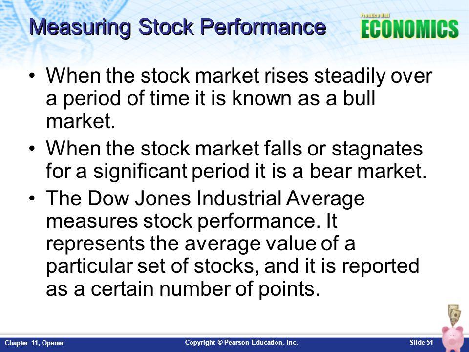 Measuring Stock Performance