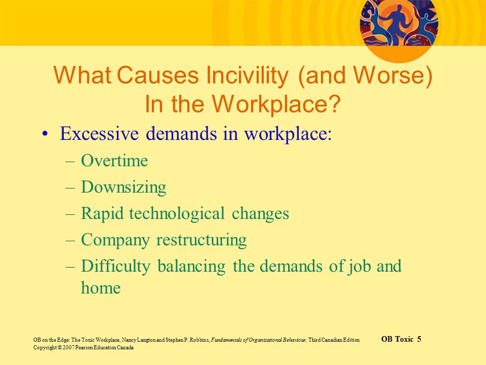 What Causes Incivility (and Worse) In the Workplace