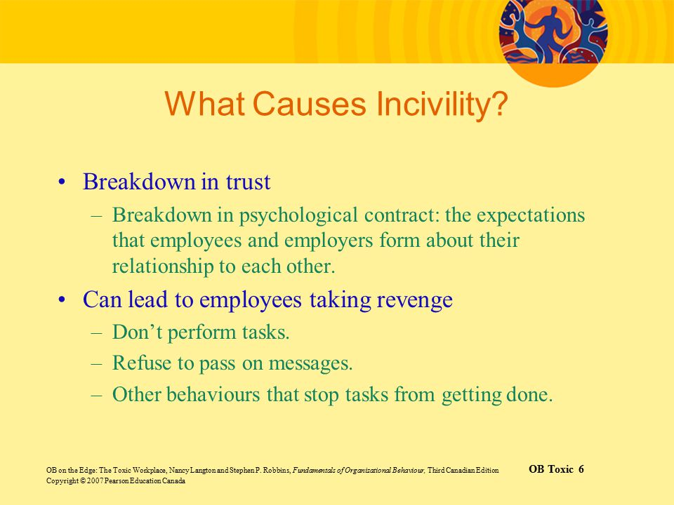 What Causes Incivility