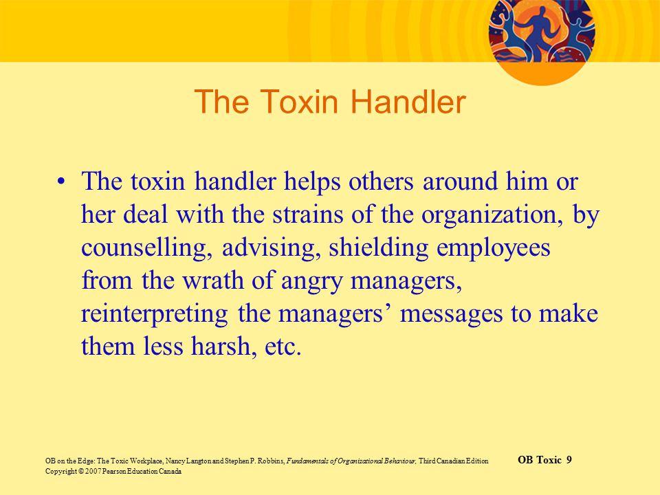 The Toxin Handler