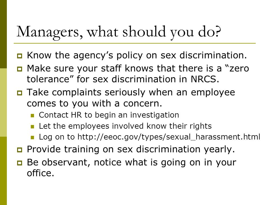 Managers, what should you do