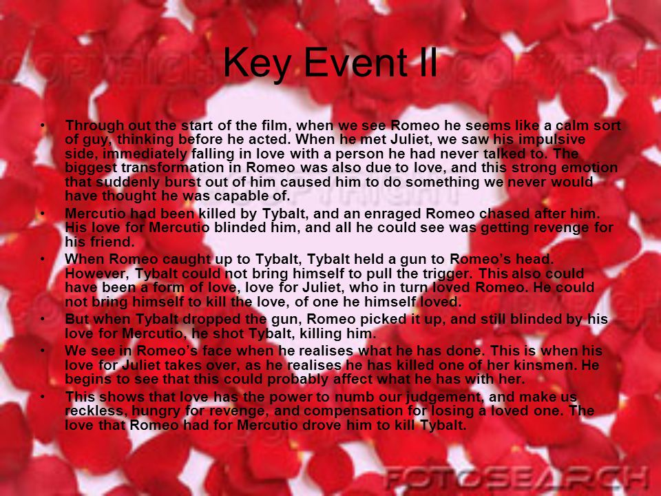 Key Event II