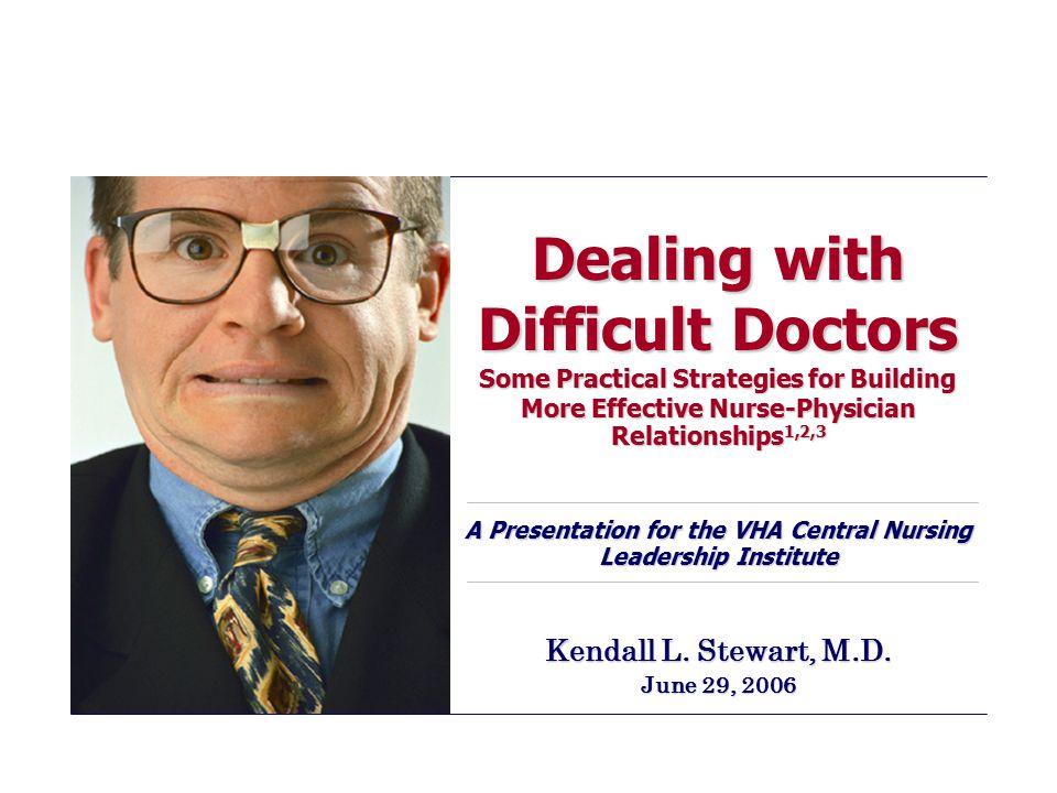 Kendall L. Stewart, M.D. June 29, 2006