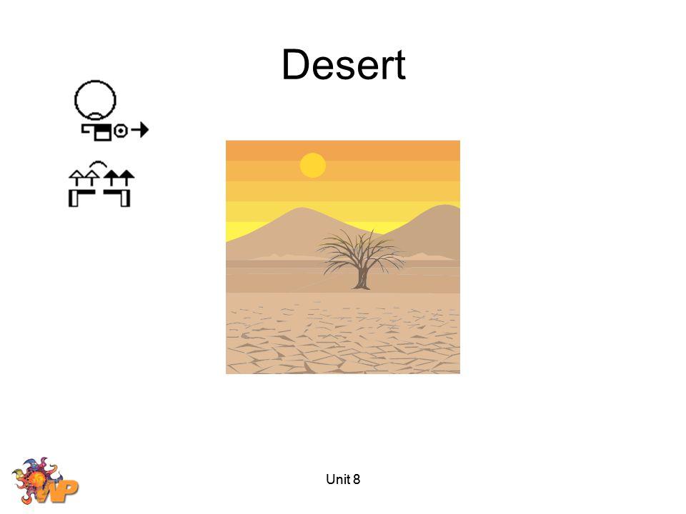 Desert Unit 8 Unit 8