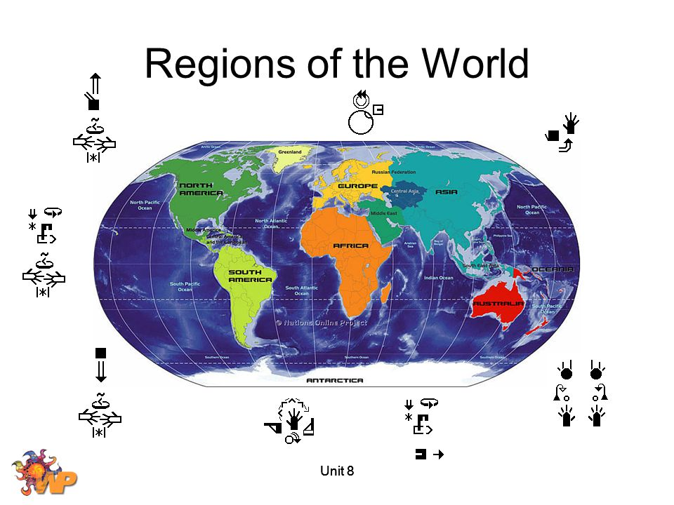 Regions of the World Unit 8 Unit 8 Unit 8