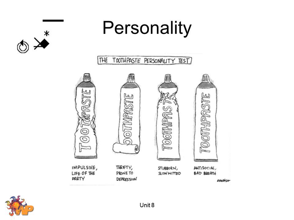 Personality Unit 8 Unit 8