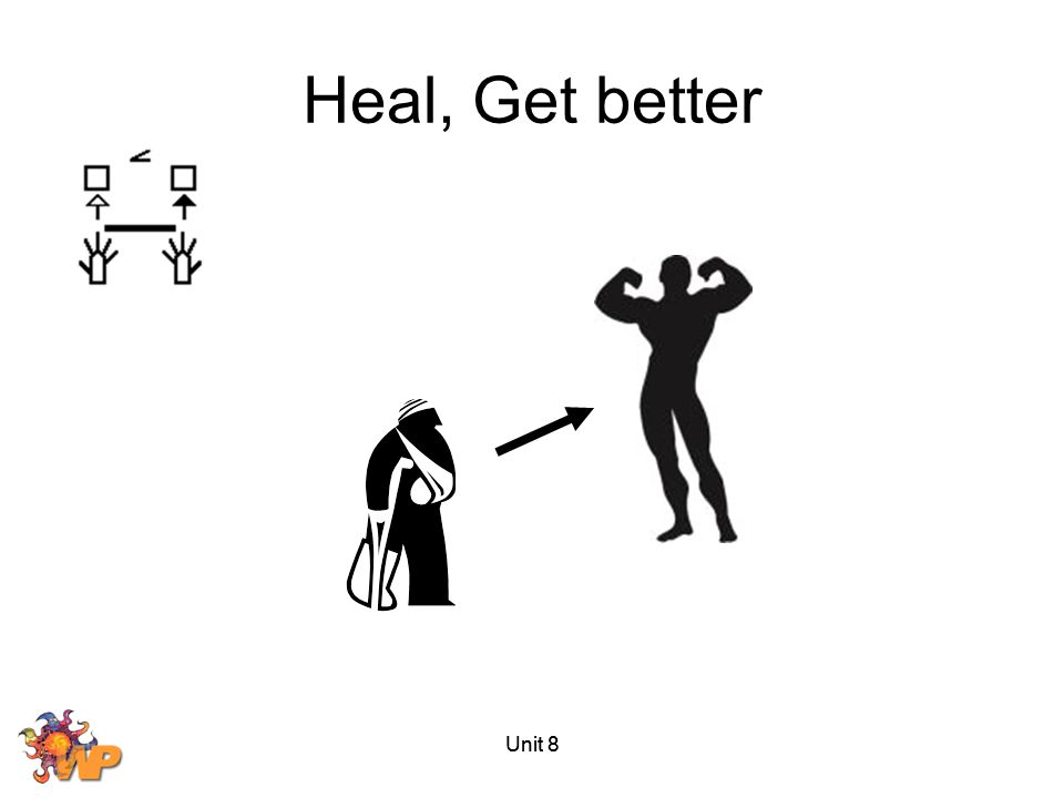 Heal, Get better Unit 8 Unit 8