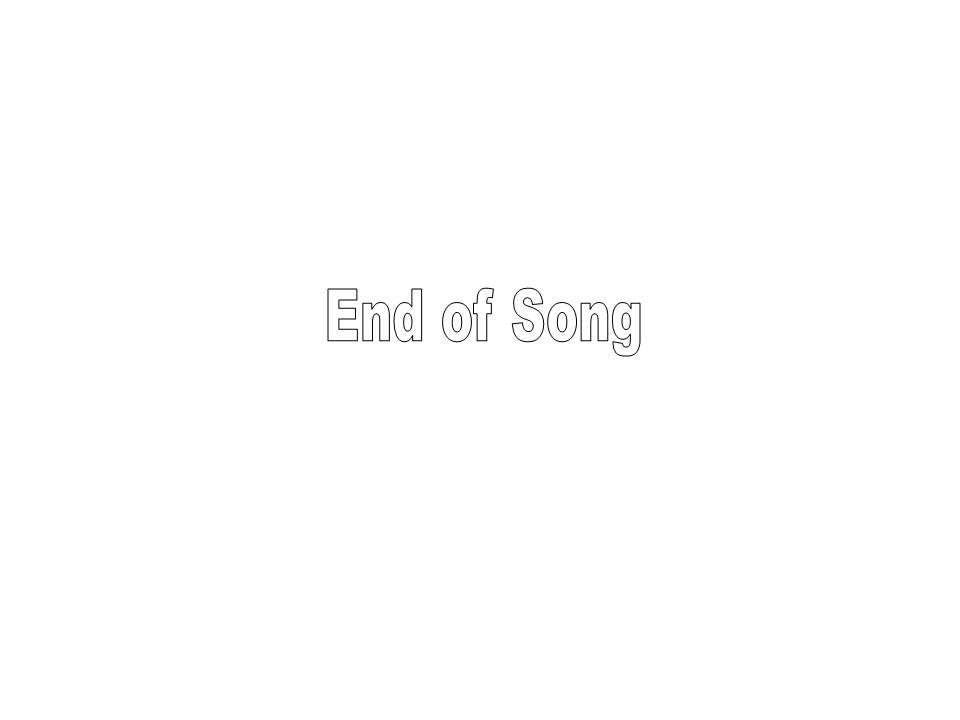 End of Song