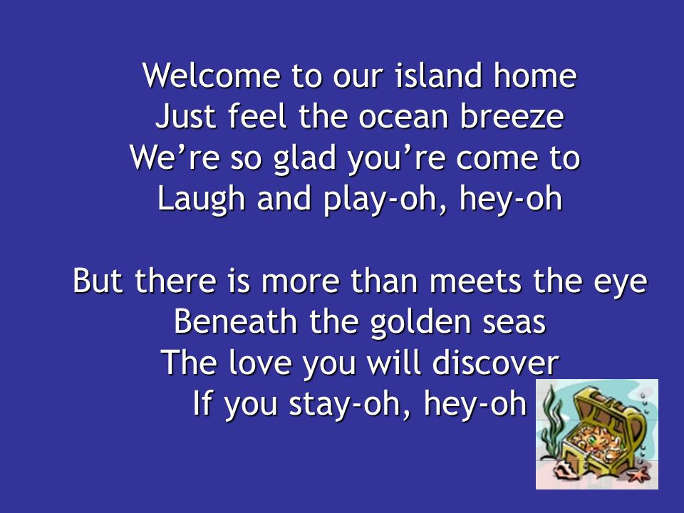 Welcome to our island home Just feel the ocean breeze