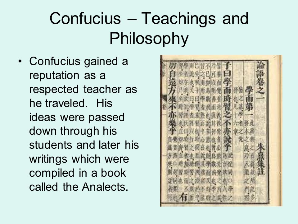 Confucius – Teachings and Philosophy