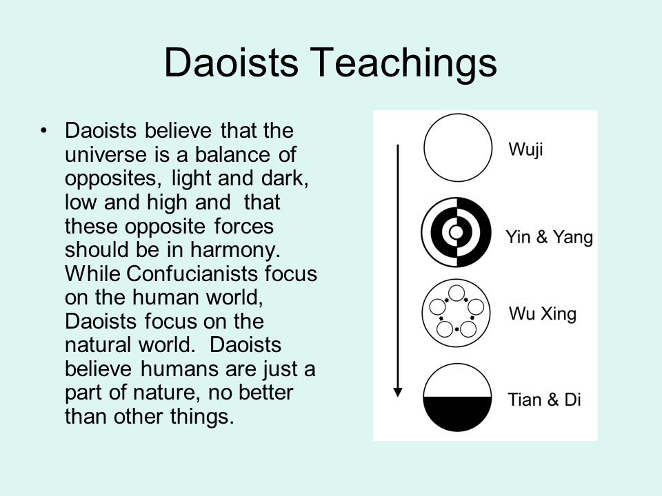 Daoists Teachings