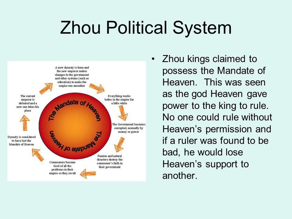 Zhou Political System