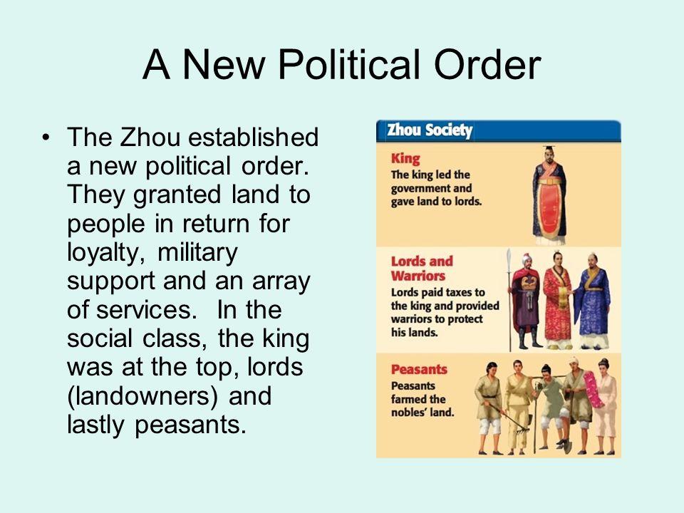 A New Political Order
