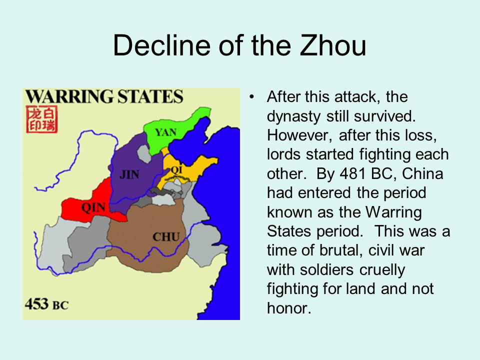 Decline of the Zhou