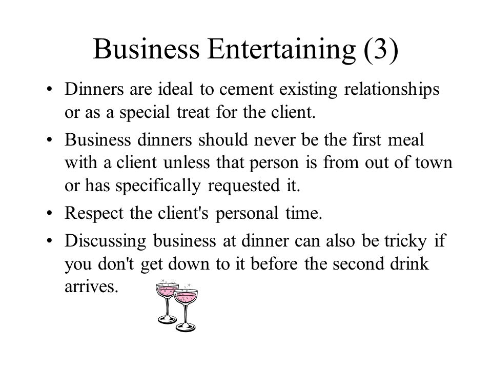 Business Entertaining (3)