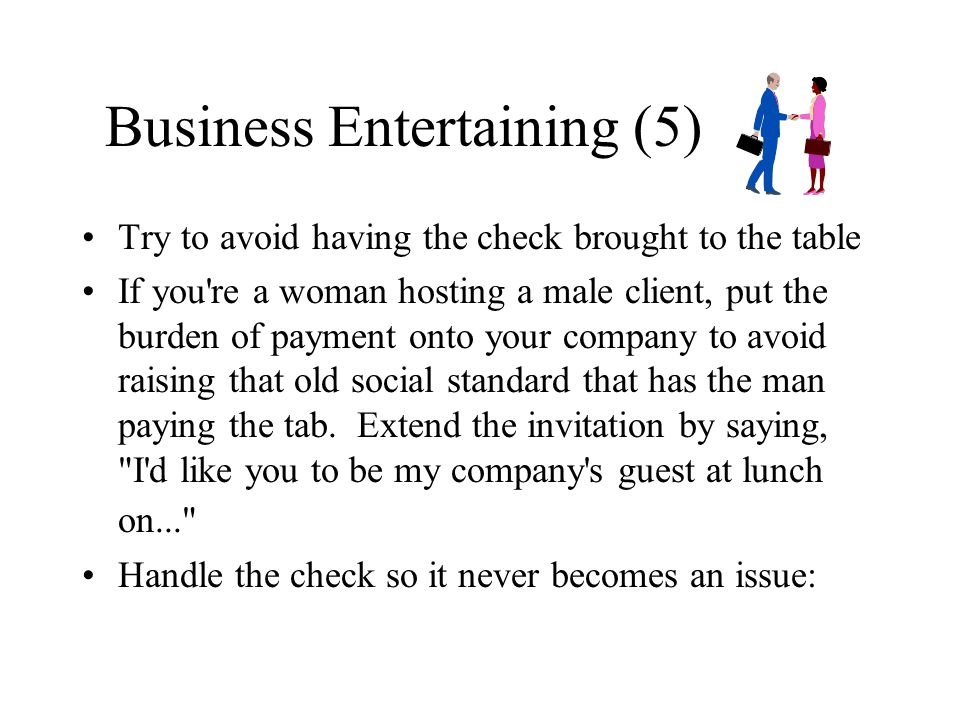 Business Entertaining (5)