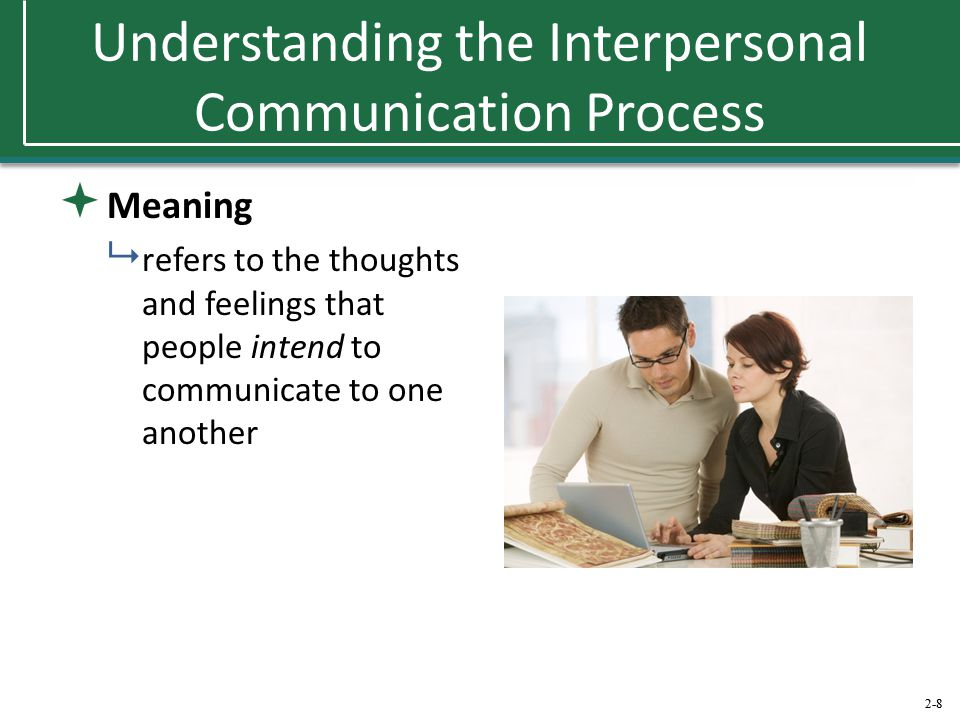 Understanding the Interpersonal Communication Process