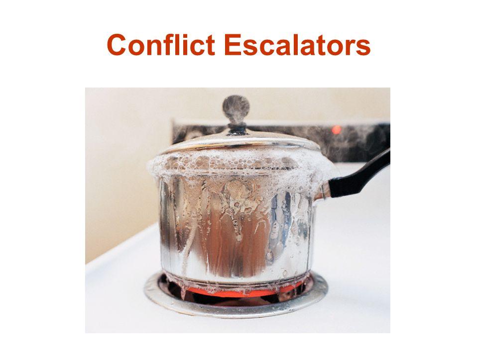 Conflict Escalators