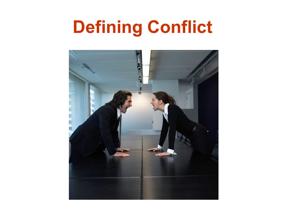 Defining Conflict
