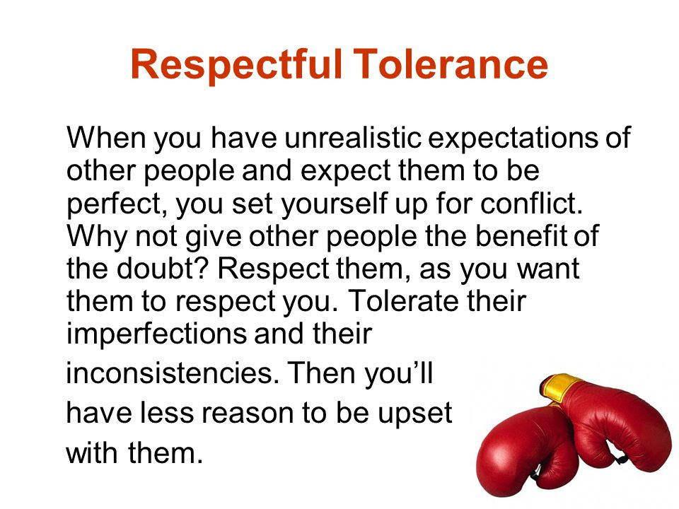 Respectful Tolerance
