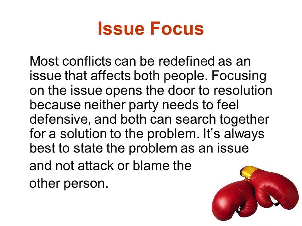 Issue Focus