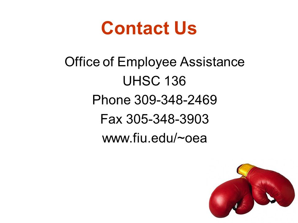 Office of Employee Assistance