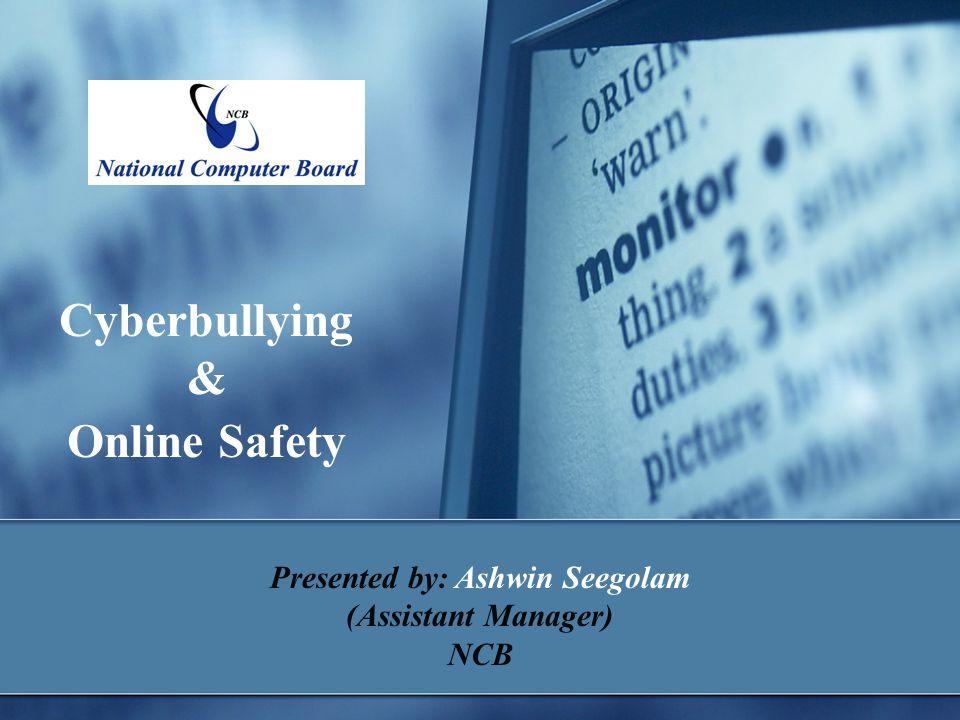 Presented by: Ashwin Seegolam