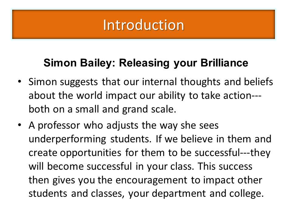 Simon Bailey: Releasing your Brilliance