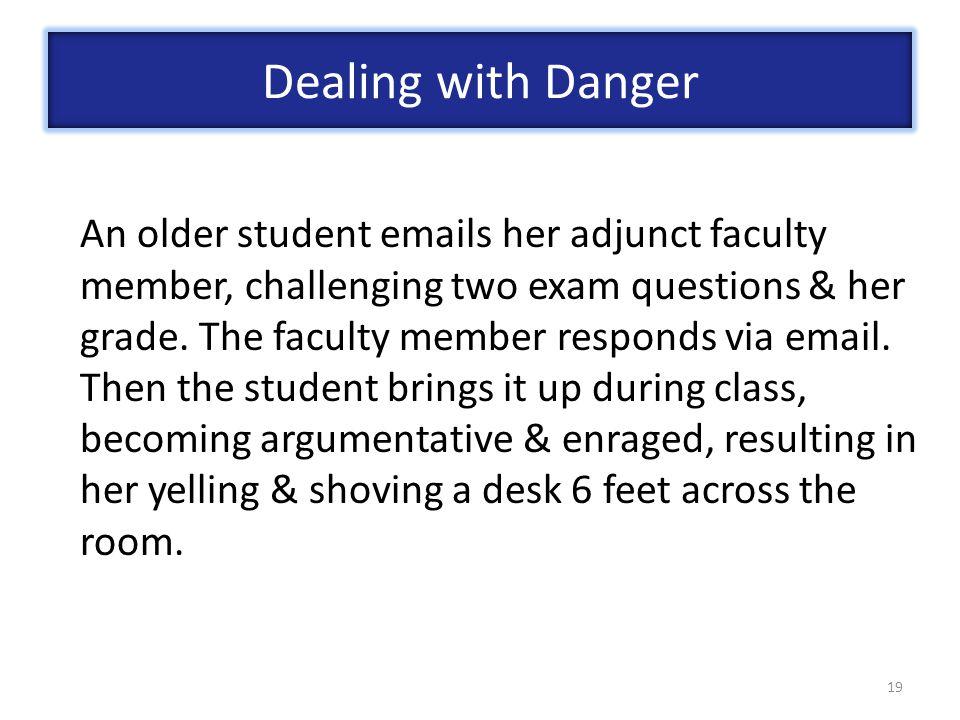 Dealing with Danger