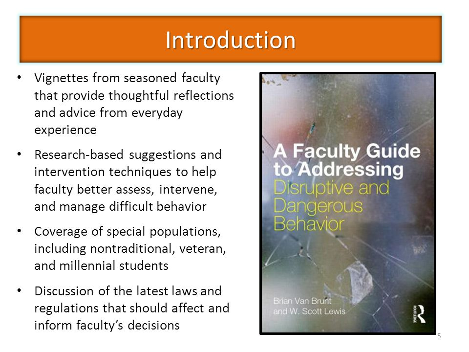 Introduction Vignettes from seasoned faculty that provide thoughtful reflections and advice from everyday experience.