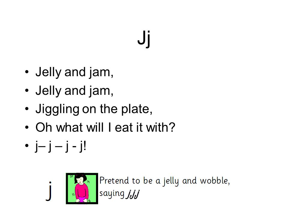Jj Jelly and jam, Jiggling on the plate, Oh what will I eat it with