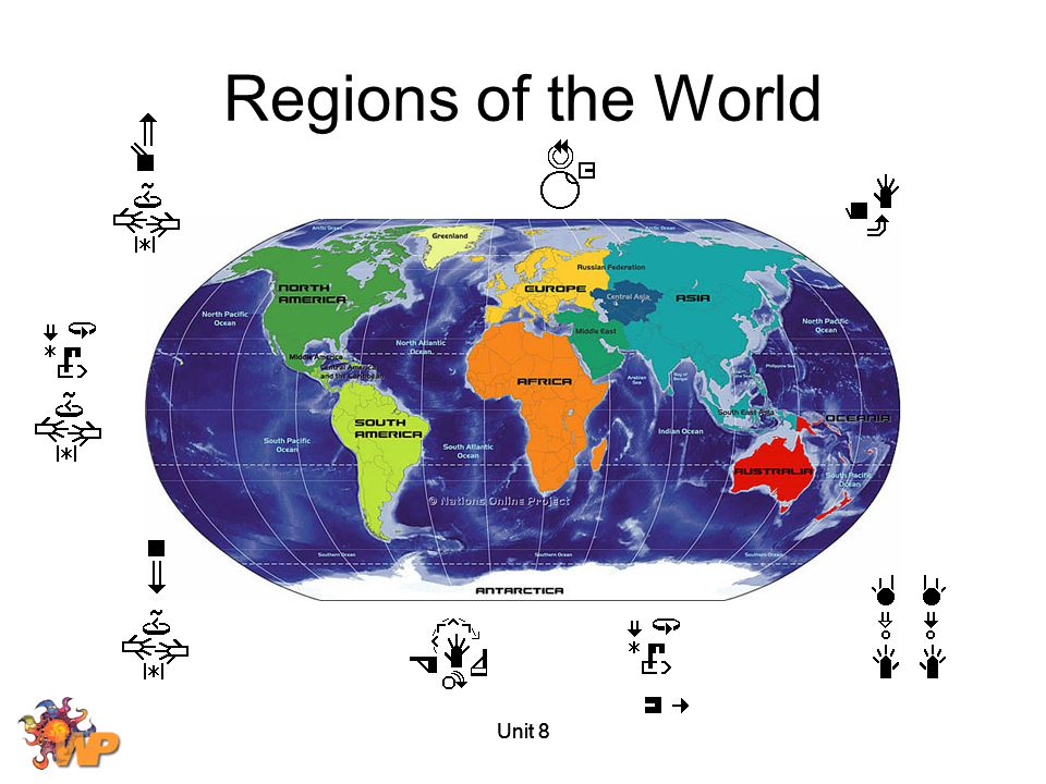 Regions of the World Unit 8 Unit 8 Unit 8