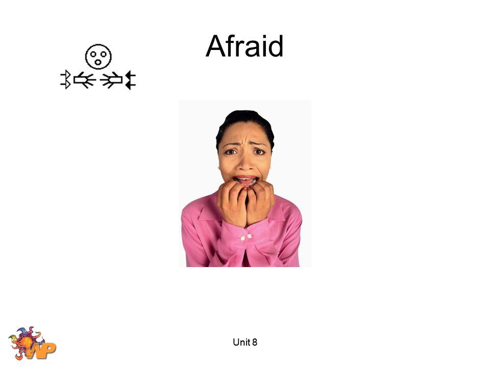 Afraid Unit 8 Unit 8