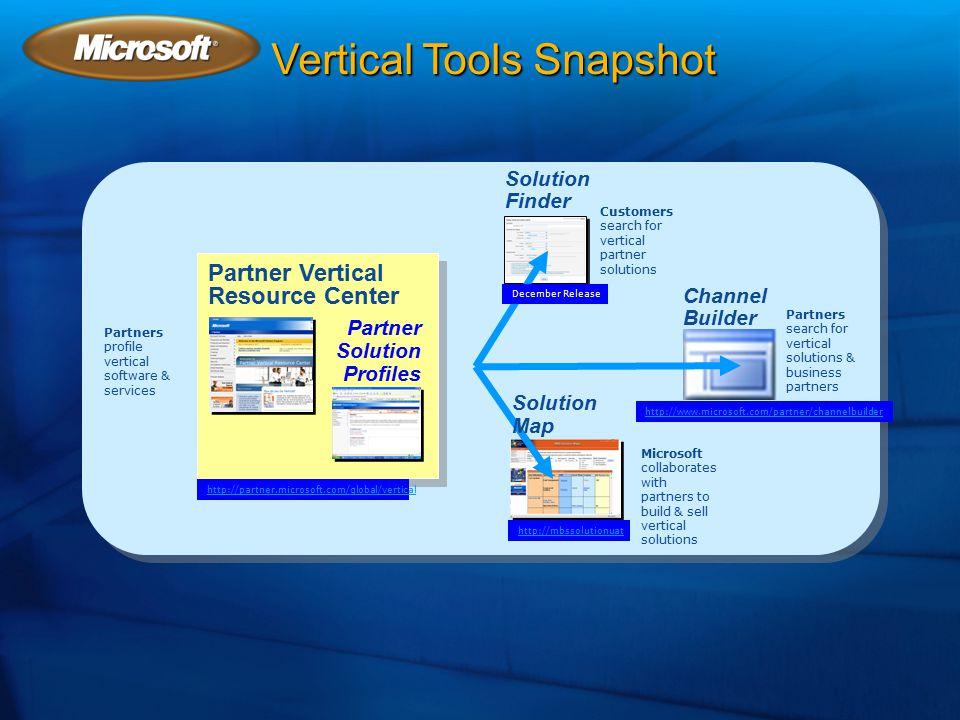 Vertical Tools Snapshot