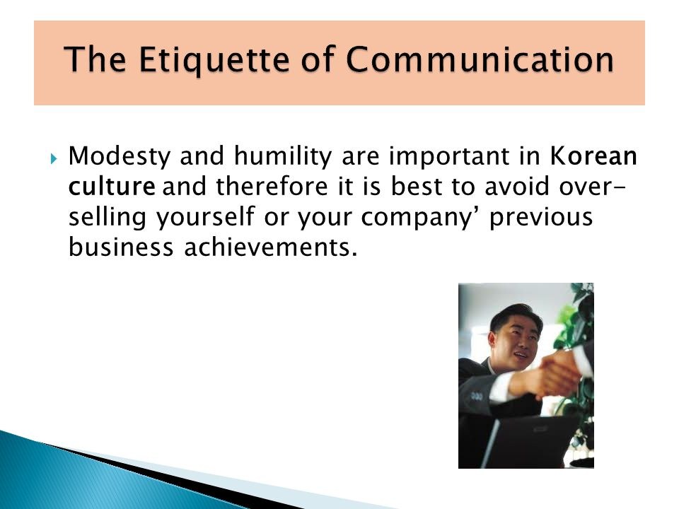 The Etiquette of Communication