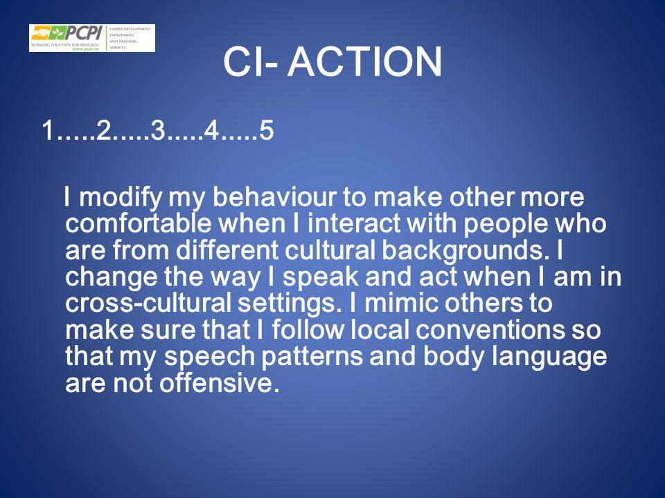 CI- ACTION