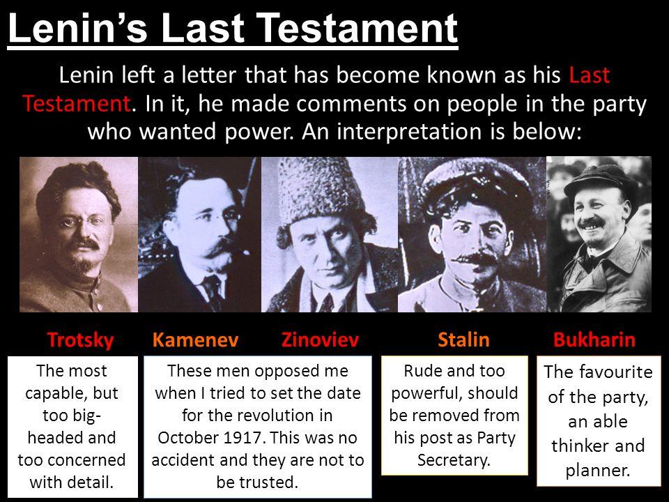 Lenin's Last Testament