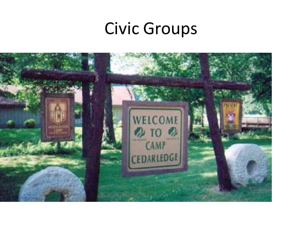 Civic Groups