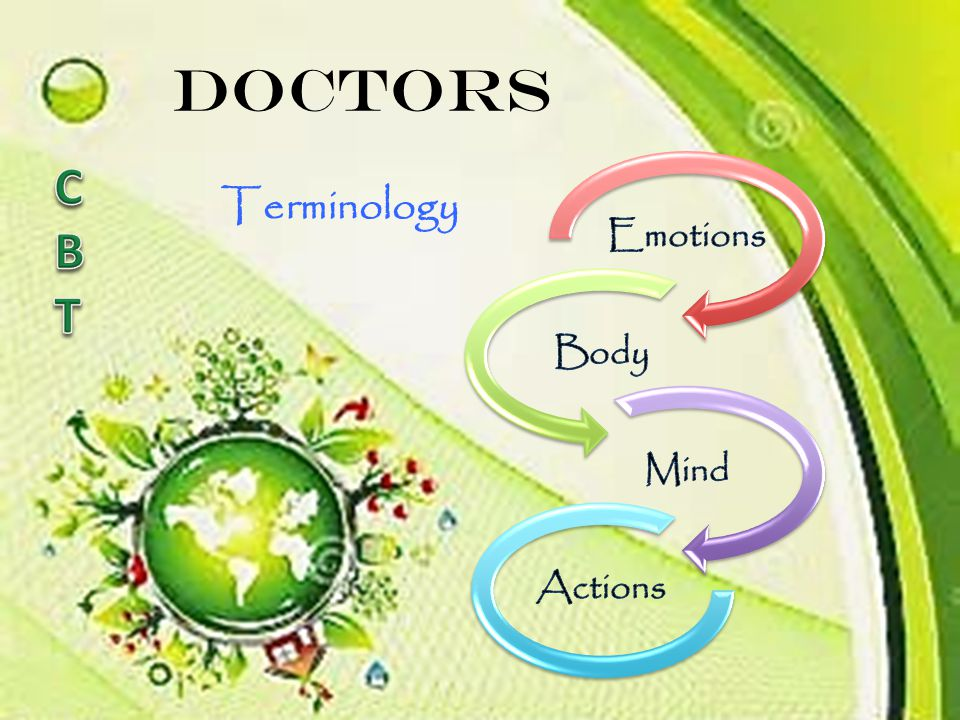 Doctors Emotions Body Mind Actions C B T Terminology