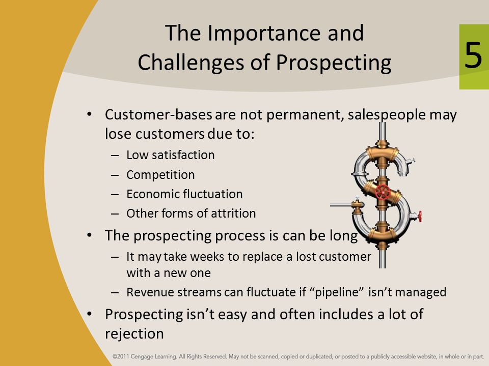 The Importance and Challenges of Prospecting
